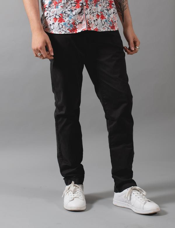 James Harper Chino Pants - Cinnamon, Black and Navy
