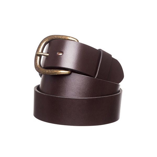 "R.M. Williams 1 1/2"" Traditional Belt - Chestnut"