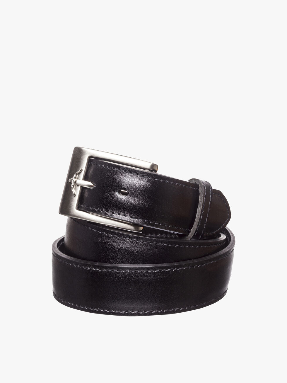 R.M. Williams Mens Dress Belt - Black