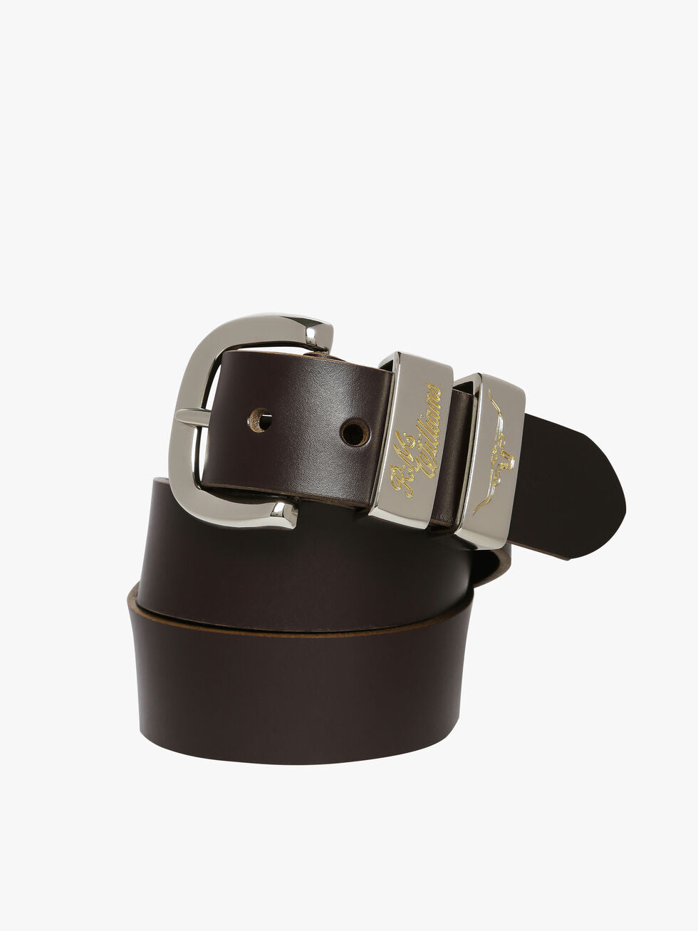 "R.M. Williams 1 1/2"" Jerrawa Belt - Chestnut"