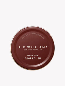 R.M. Williams Stockman's Boot Polish - Dark Tan