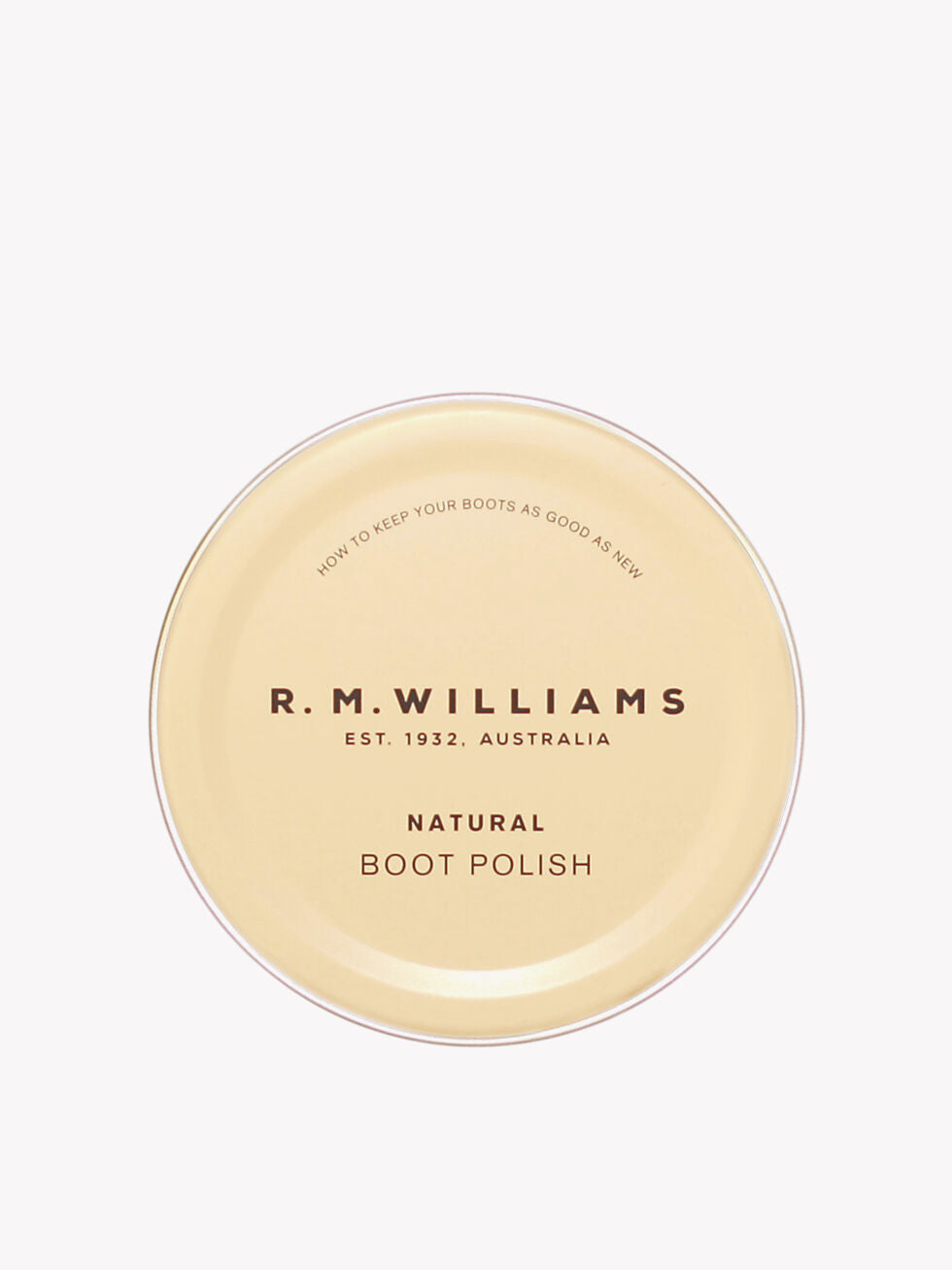 R.M. Williams Stockman's Boot Polish - Natural