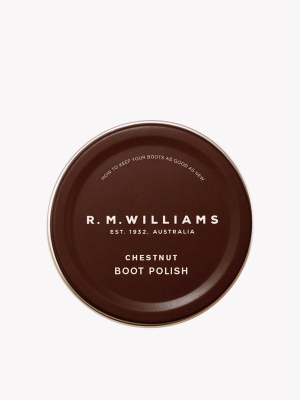 R.M. Williams Stockman's Boot Polish - Chestnut