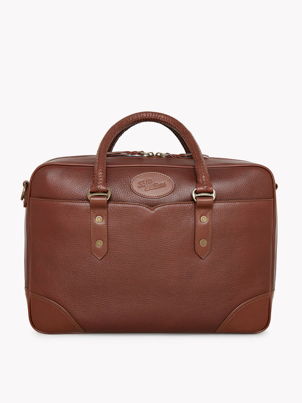 R.M. Williams Signature Briefcase - Whisky
