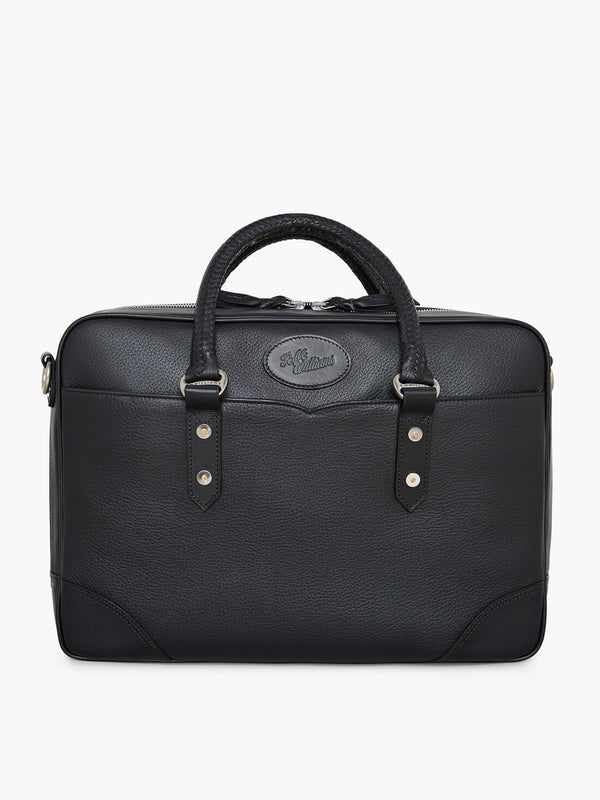 R.M. Williams Signature Briefcase - Black