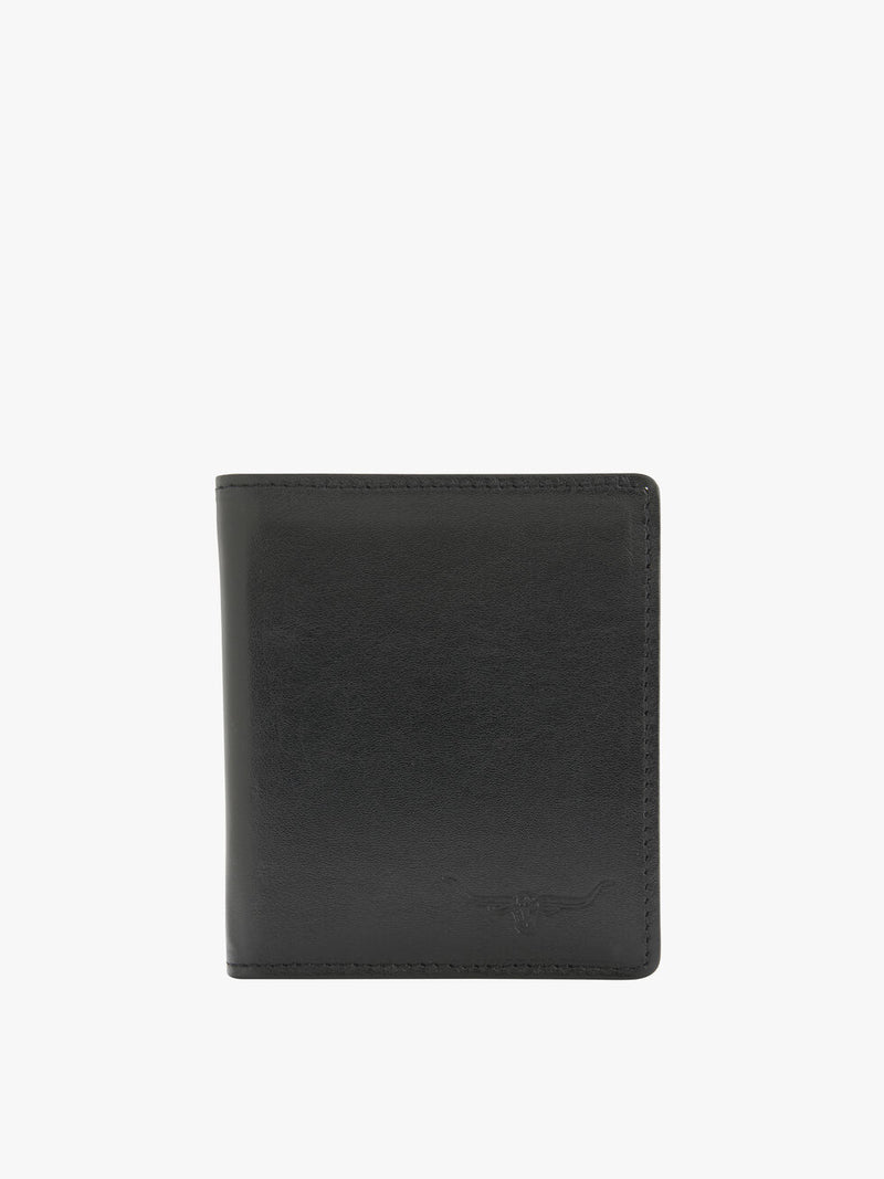 R.M. Williams Kangaroo Tri-Fold Wallet - Black