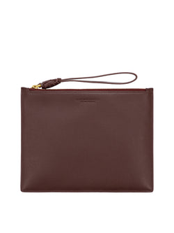 R.M. Williams Clutch Bag - Wine