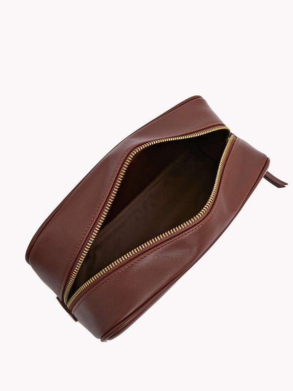 R.M. Williams City Washbag - Chestnut