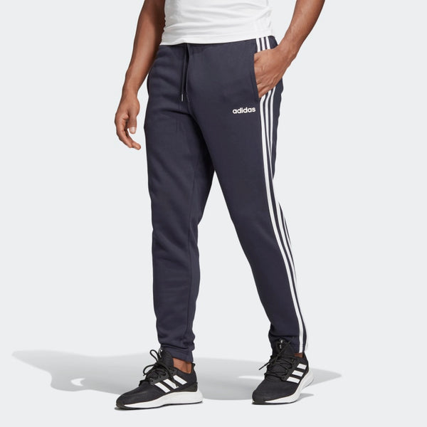 Adidas Mens Essentials 3-Stripes Tapered Trackpants