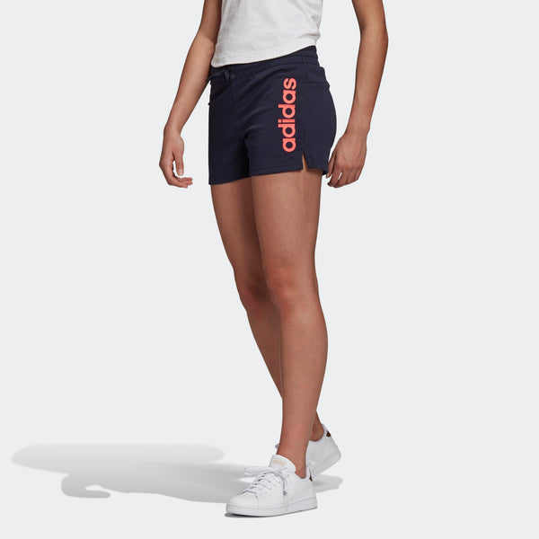 Adidas Womens Essentials Linear Logo Short - Ink