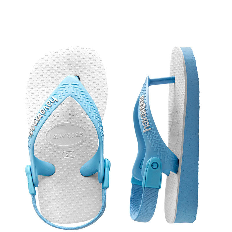 Baby Havaianas Traditional Blue Thongs