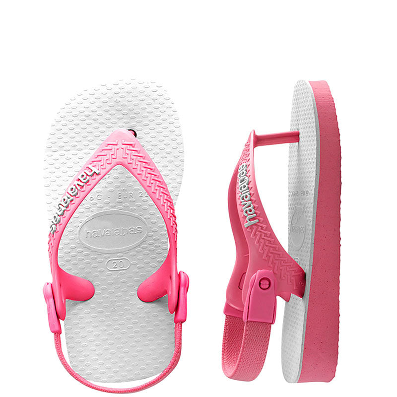 Baby Havaianas Traditional Pink Thongs