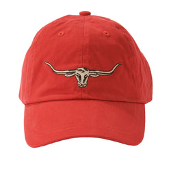 R.M. Williams Steers Head Logo Cap - Red