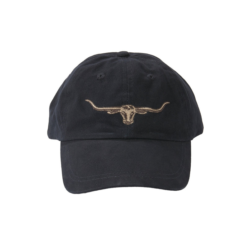 R.M. Williams Steers Head Logo Cap - Navy