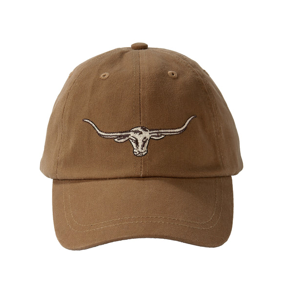 R.M. Williams Steers Head Logo Cap - Camel