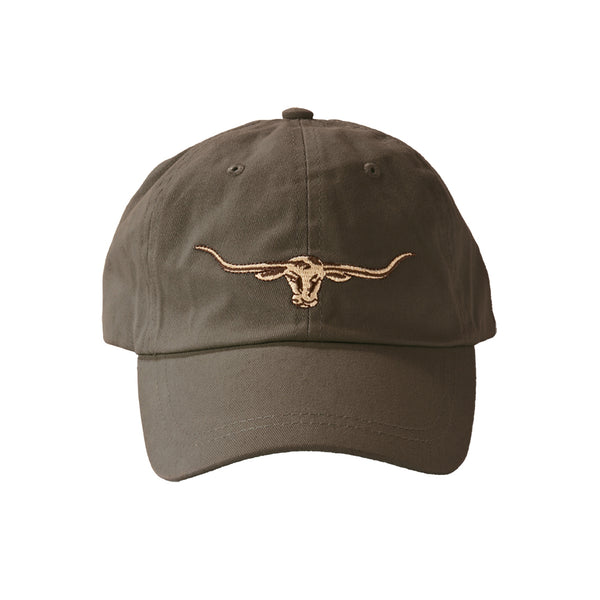 R.M. Williams Steers Head Logo Cap - Silt