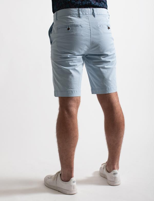 James Harper Shorts - Sky, Camel and Navy