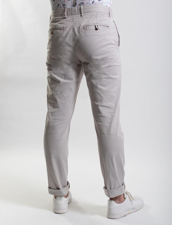 James Harper Chino Pants - Cement, Navy & Camel