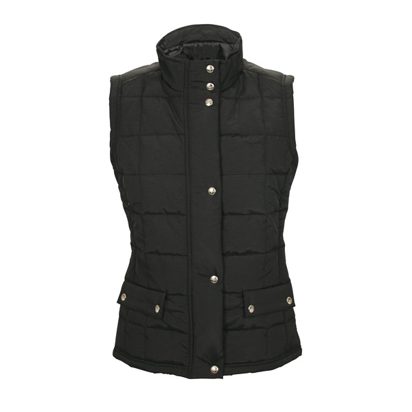 R.M. Williams Wilpena Creek Vest -Black