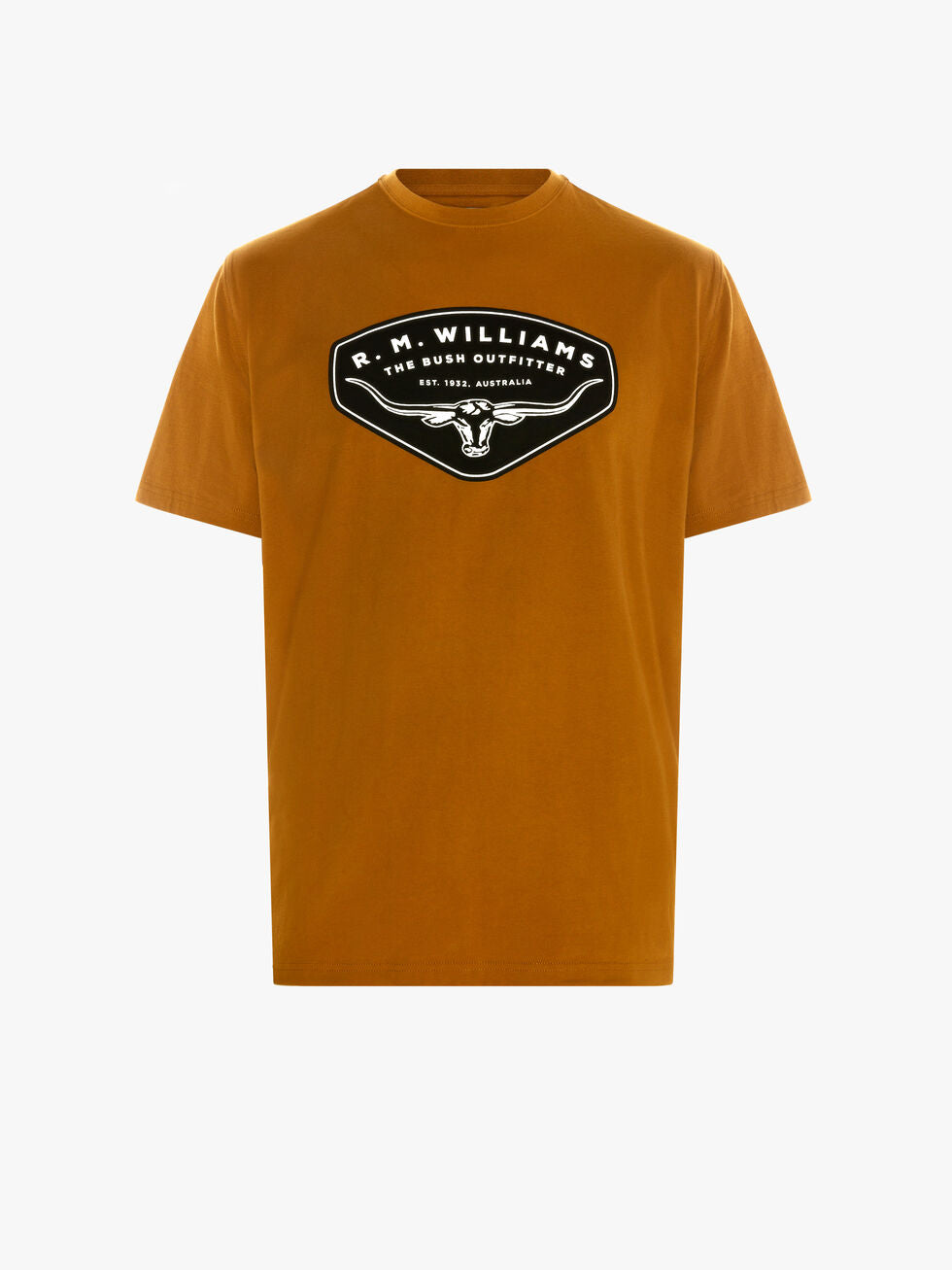 R.M. Williams Shield T-Shirt - Bronze