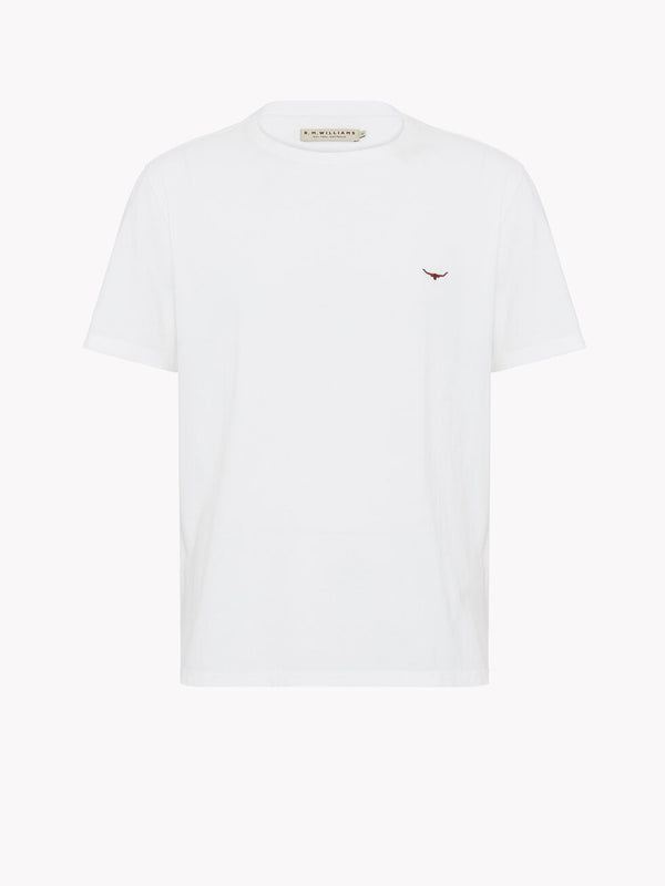 R.M. Williams Parson T-Shirt - White