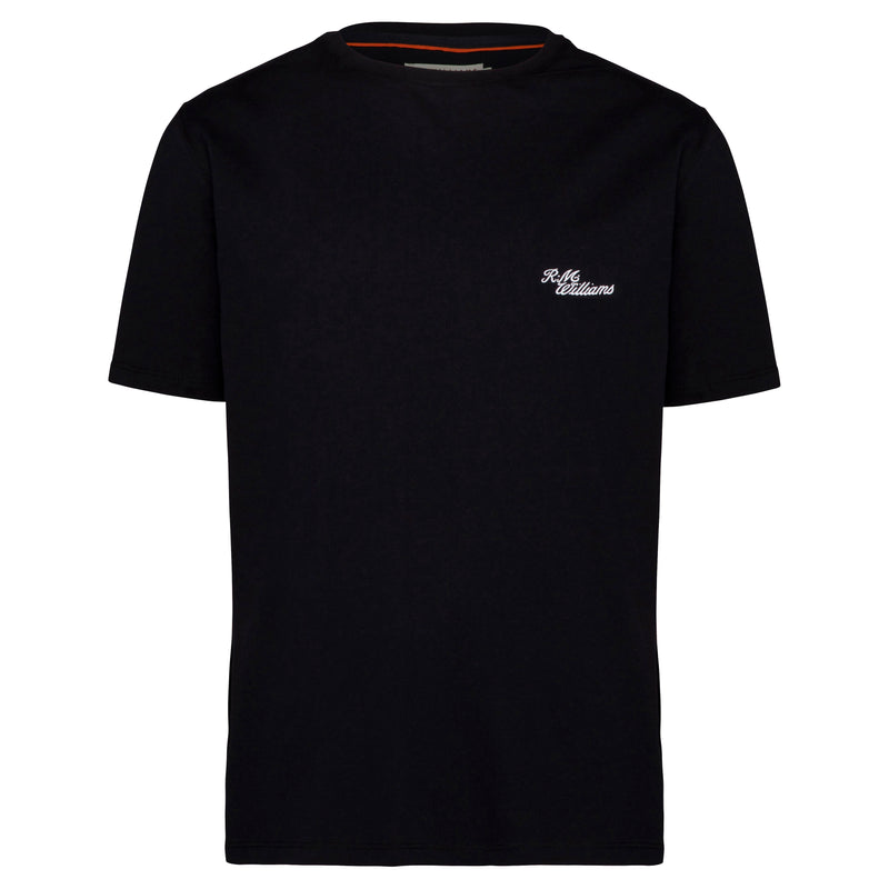 R.M. Williams Byron T-Shirt - Black/White