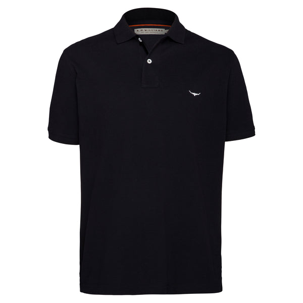 R.M. Williams Rod Polo - Black
