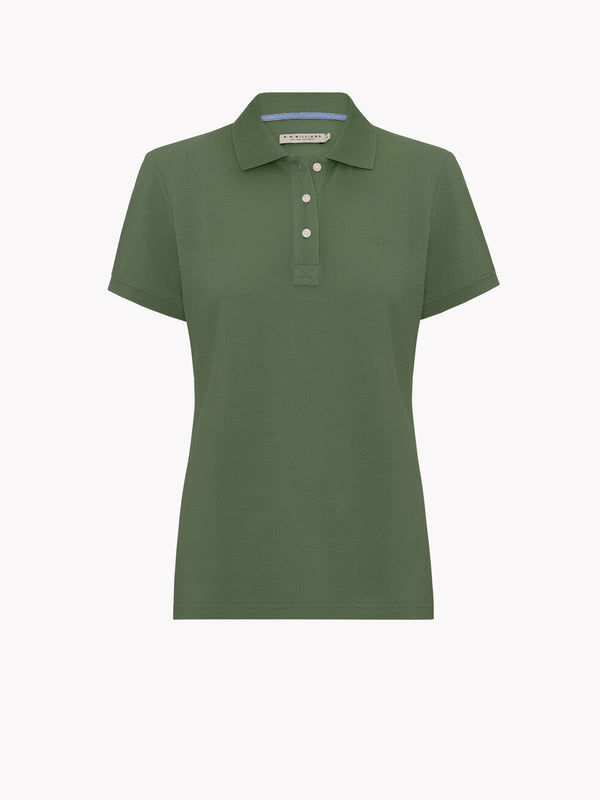 R.M. Williams Rosedale Polo - Olive