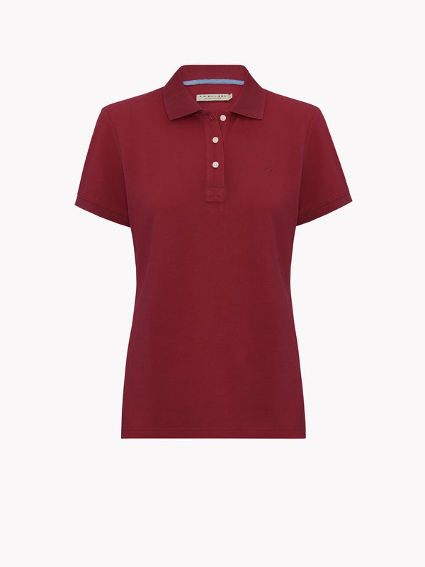 R.M. Williams Rosedale Polo - Redwood