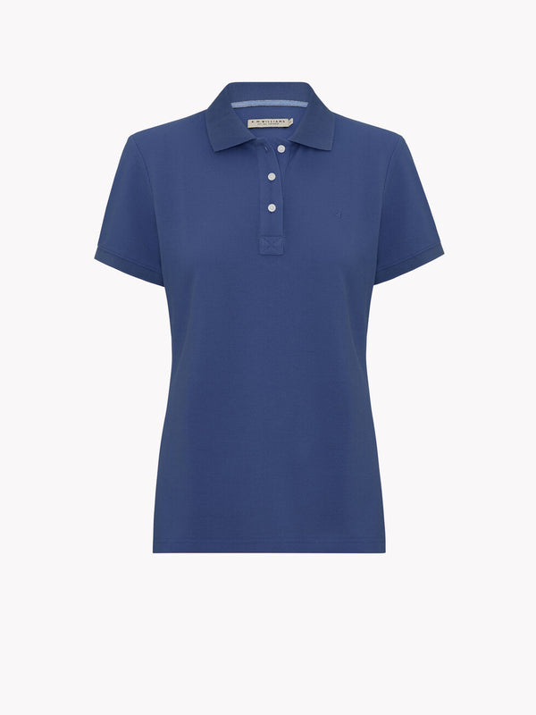 R.M. Williams Rosedale Polo - Ocean