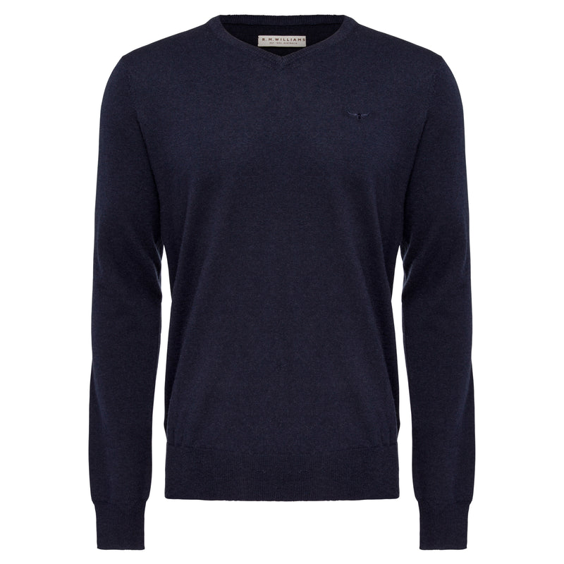 R.M. Williams Harris Sweater - Navy