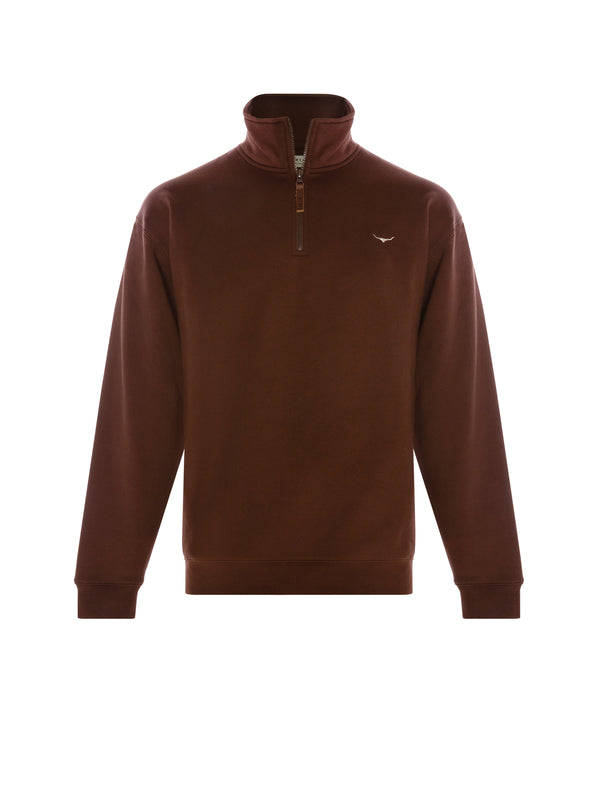 R.M. Williams Mens Mulyungarie Fleece - Chocolate