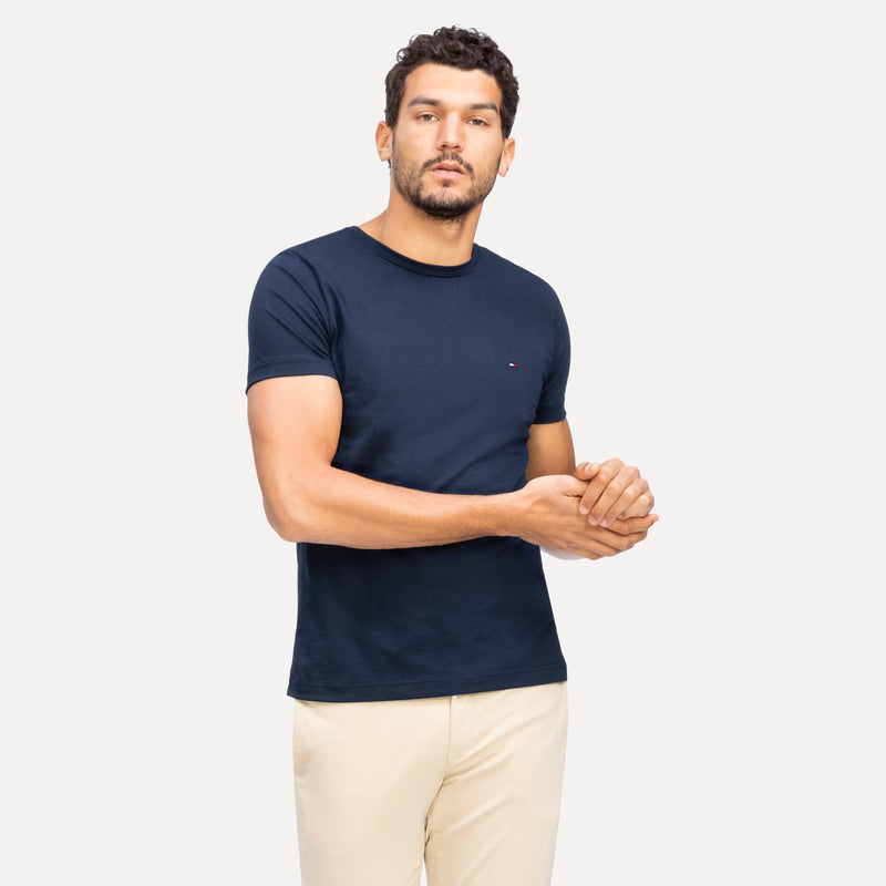 Tommy Hilfiger Mens Essential Cotton Tee - 4 Colours