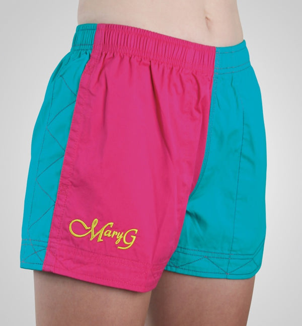 Mary G Ladies Australian Cotton Harlequin Short - 2 Colours - Low Rise