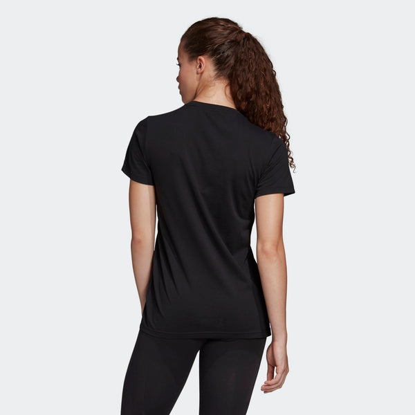 Adidas Womens Must Haves Badge of Sport Tee - Black
