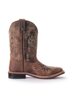 Pure Western Grace Childrens Boot