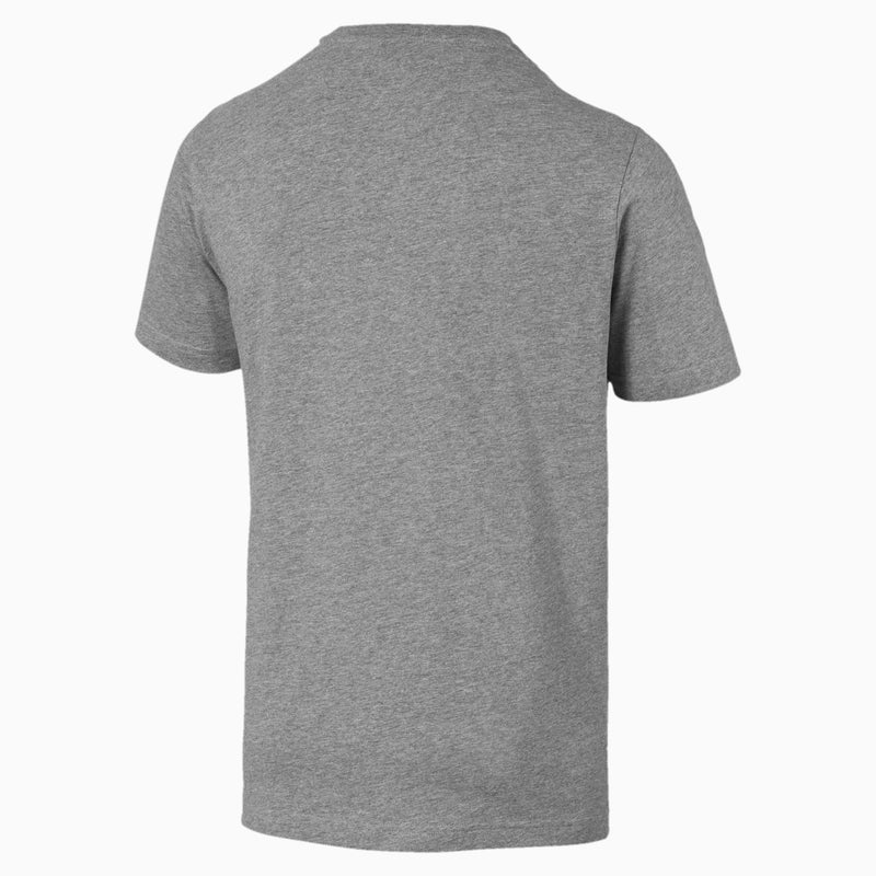 Puma Mens Graphic Tee - White & Grey
