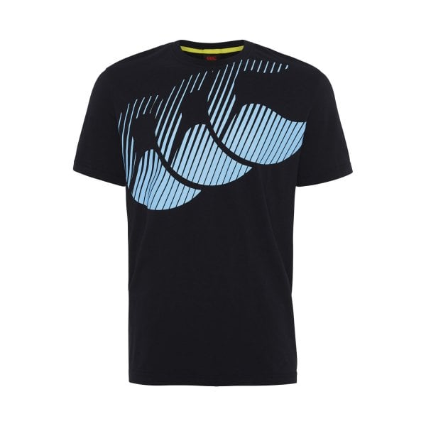 Canterbury Mens Stripe Logo Tee - 2 Colours