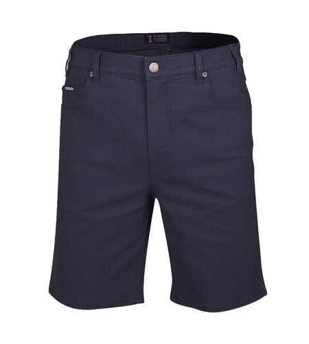 Ritemate Mens Cotton Stretch Jean Short - 4 Colours