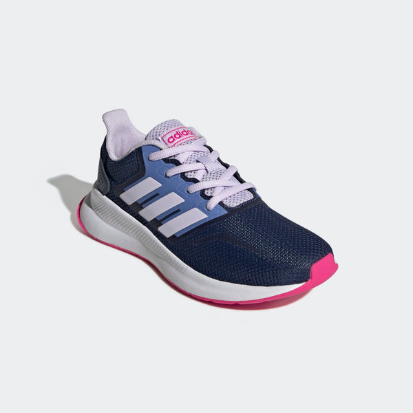 Adidas Kids Runfalcon Shoes - Indigo/Pink/Purple