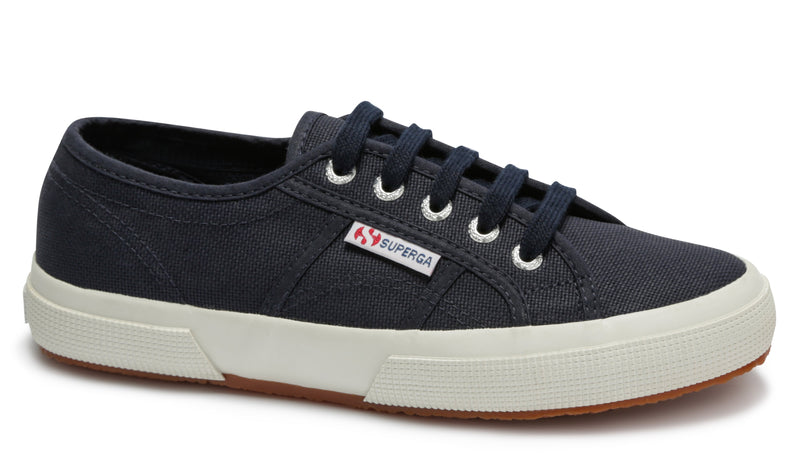 Superga 2750 Cotu Classic Shoe - Colours: Navy, White, Black, Grey & Taupe