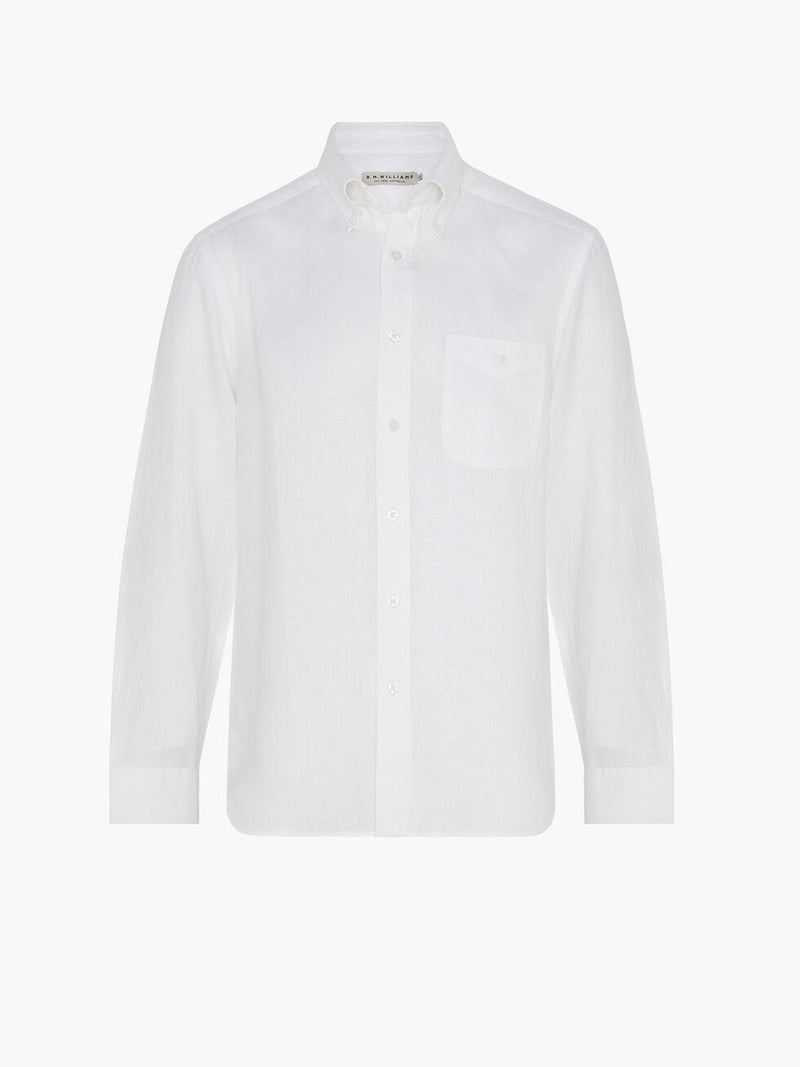 R.M. Williams Collins Button Down Shirt - White