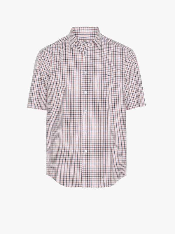 R.M. Williams Hervey Shirt - White/Orange