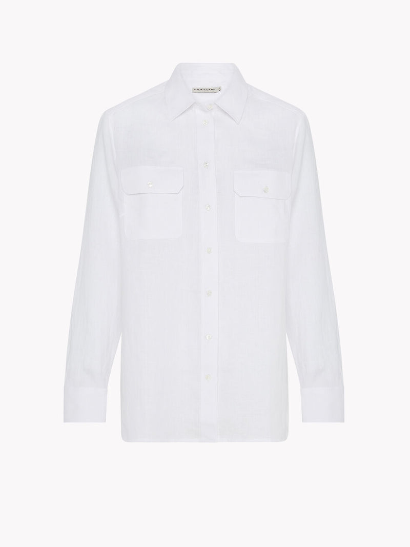 R.M. Williams Lady Grazier Shirt - White