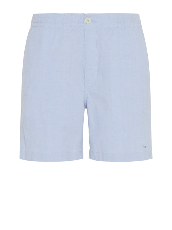 R.M. Williams Rugby Short - White/Blue