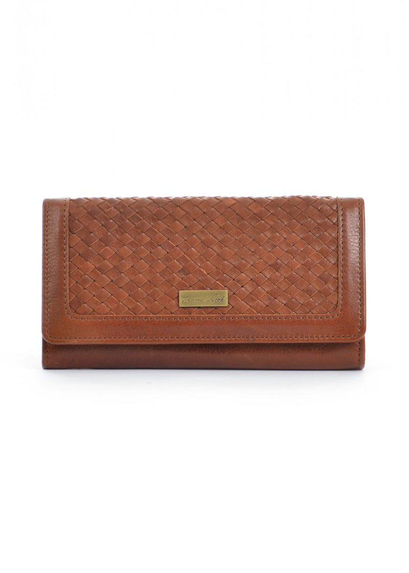 Thomas Cook Womens Siena Weave Wallet