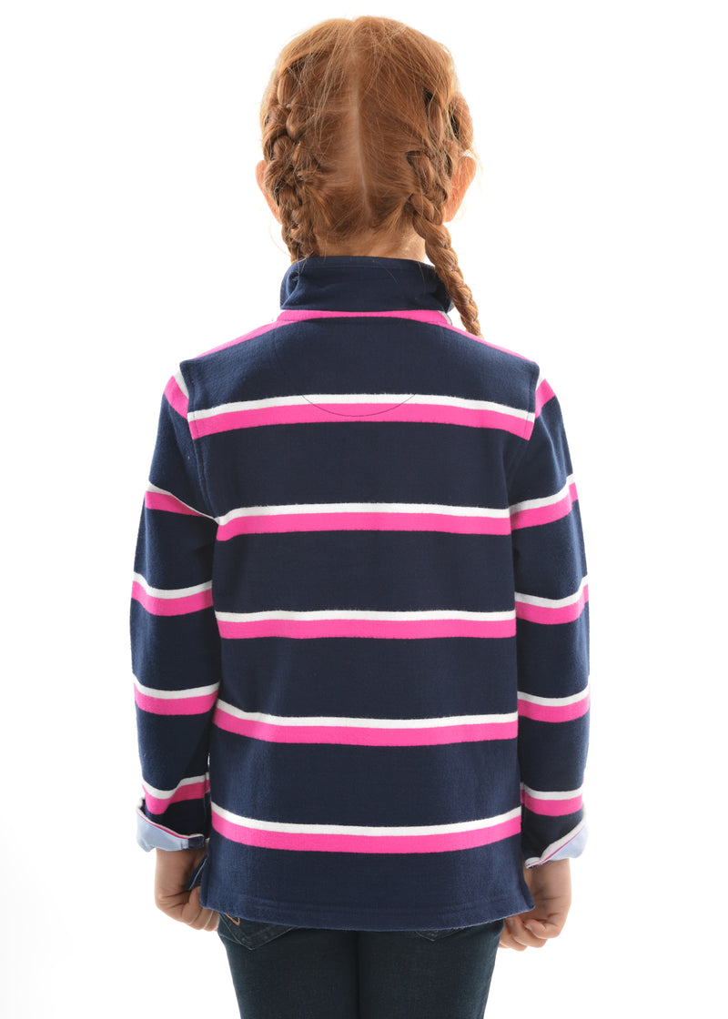 Thomas Cook Girls Bathurst Stripe 1/4 Zip Rugby