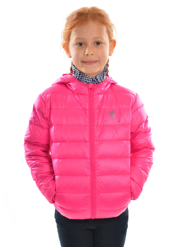 Thomas Cook Kids Puffa Jacket - Pink and Navy