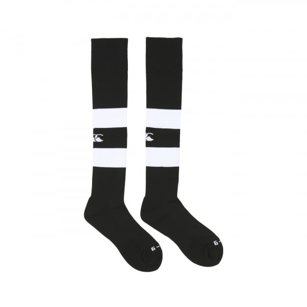Canterbury Hooped Playing Sock - 2 Colours