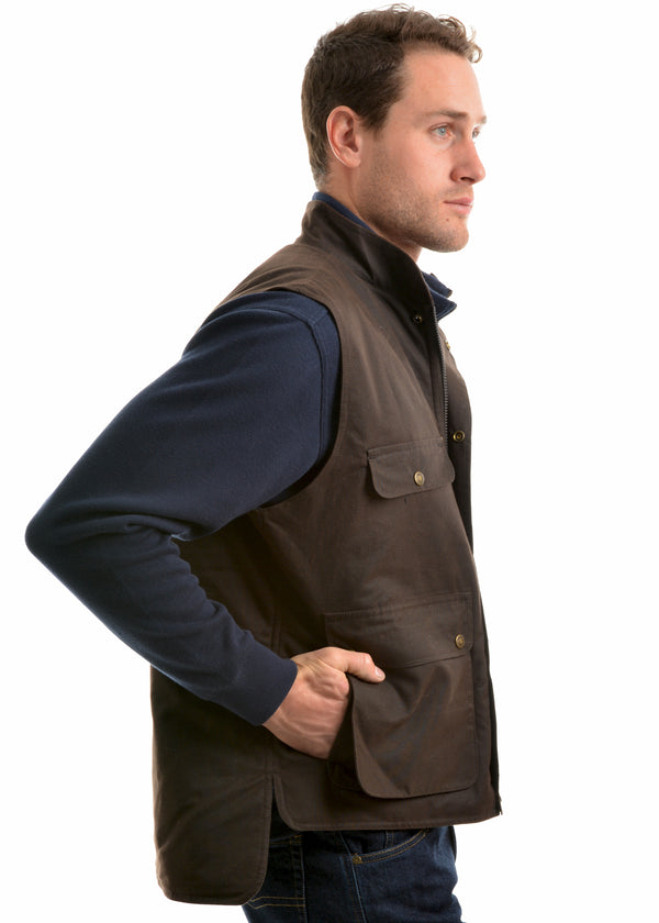 Thomas Cook Mens High Country Professional Oilskin Vest